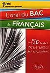 L'Oral du Bac de Fran�ais Premi�res T...