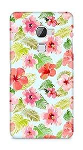 Amez designer printed 3d premium high quality back case cover for LeEco Letv Le Max (floral )