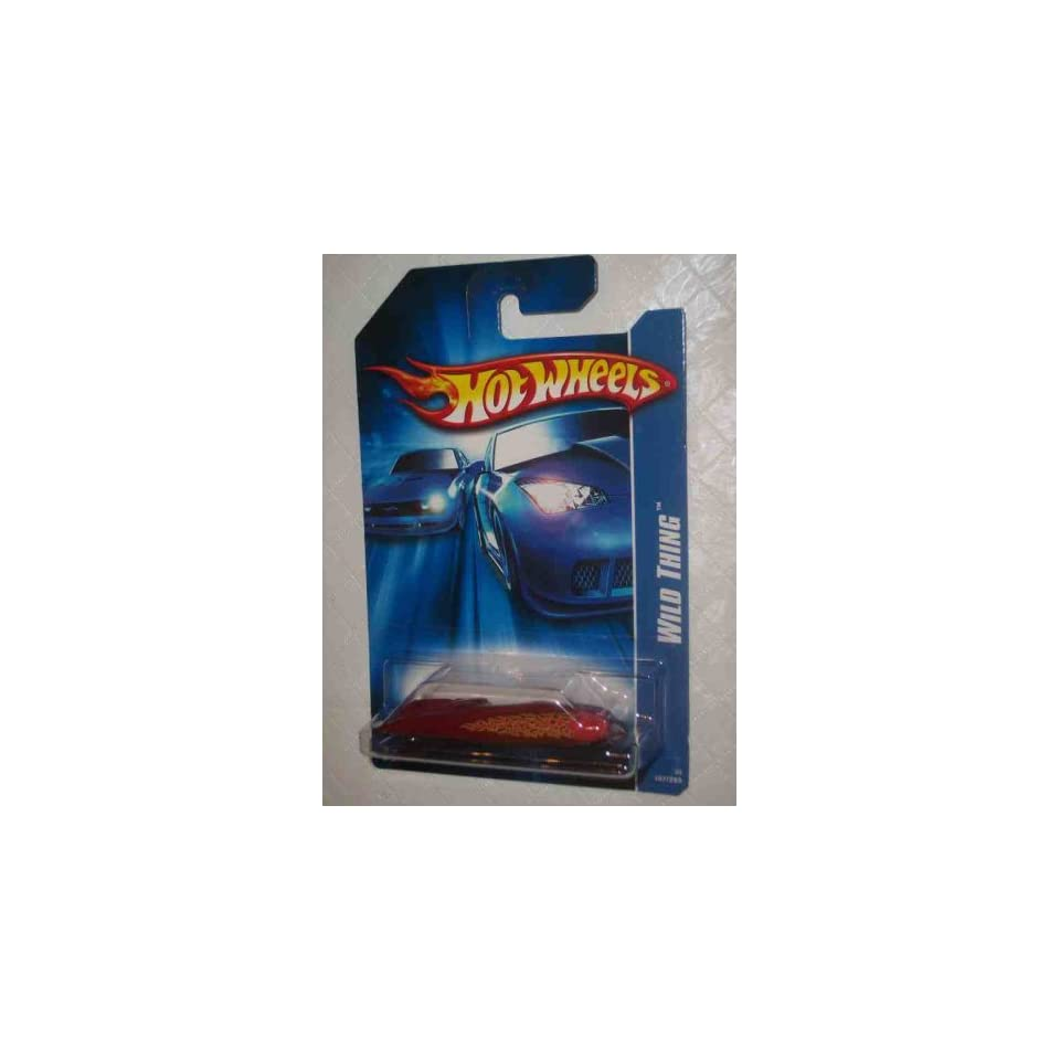 #2006 187 Wild Thing 2007 Card Collectible Collector Car Mattel Hot Wheels