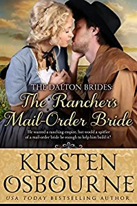The Rancher's Mail Order Bride by Kirsten Osbourne ebook deal