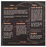 "CARDAS Clear Audiophile Headphone Cable for SENNHEISER HD650 HD600 HD580 HD565 HD545 HD535 HD265 - 10ft 3m cord 1/4"" plug"