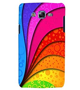 Citydreamz Multicolor Waves Pattern Hard Polycarbonate Designer Back Case Cover For Samsung Galaxy J2