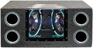 Pyramid BNPS102 10-Inch 1,000-Watt Dual-Bandpass System