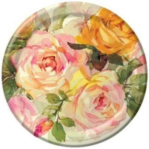 Creative Converting Lattice Rose 7-inch Paper Plates 8 Per Pack at Sears.com