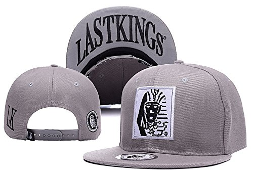 Last Kings Men's Originals Thrasher Fashion Hats Hat, Grey, One Size