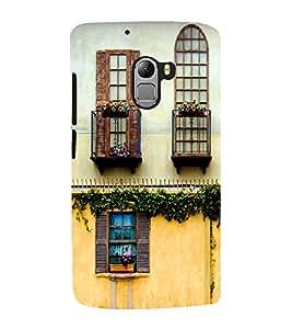 Window design Back Case Cover for Lenovo K4 note