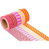TapeArt Washi Tape Set - High Quality Decorative Masking and Adhesive Paper Tape - Lifetime Guarantee - Classic