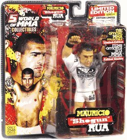 "Round 5 World of MMA Champions UFC Exclusive Limited Edition Action Figure Mauricio ""Shogun"" Rua [Walkout T-Shirt!] - 1"