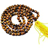 FairyBells Kart Energised Tiger Eye Diamond Cut Crystal Mala FBKAC95