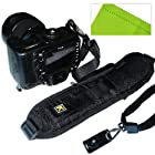 First2savvv Quick Release Professional Shoulder Sling Strap with storage pocket for SONY DSC-HX100V with LENS Cleaning Cloth