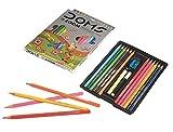 Doms Premium Artist Grade High Quality Color Pencil Set (Pack Of 3)