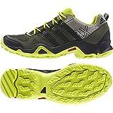 Adidas AX2 Hiking Shoes Earth Green/Black/Power Red Mens