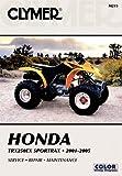 img - for Honda TRX250EX SportTrax 2001-2005 (Clymer Motorcycle Repair) (Clymer All-Terrain Vehicles) book / textbook / text book