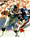 Joe Klecko Autographed/Hand Signed New York Jets 8x10 Photo (vs Bills-New York Sack Exchange)
