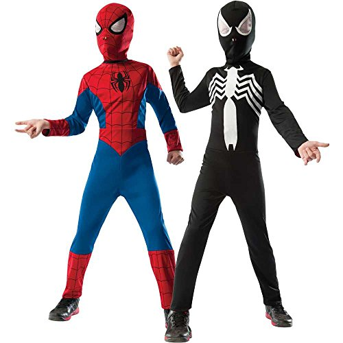 Ultimate Spider-Man / Venom Reversible Kids Costume