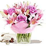 Eden4flowers Prestige Bouquet & Chocolates - Flowers & Bouquets Delivered