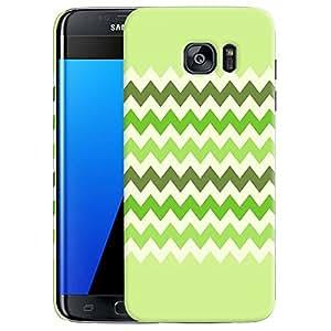 Green Zickzack Back cover Samsung Galaxy S7 Edge