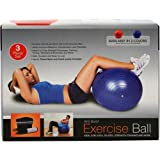 RED 65cm ANTI BURST GYM EXERCISE SWISS YOGA FITNESS CORE BALL PREGNANCY BIRTHING
