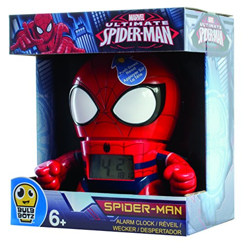 Kanaï Kids - KKC039 - Horloge Réveil - Spiderman Marvel - 19 cm - Multicolore