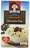 Quaker Instant Oatmeal, Chocolate Chip, 10-Count Boxes (Pack of 4)