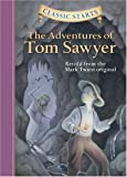 img - for The Adventures of Tom Sawyer (Classic Starts) book / textbook / text book