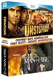 echange, troc Unstoppable + Man on Fire [Blu-ray]