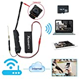 Toughsty™ WIFIネットワーク隠しカメラ 1280X720P 高解像度 8GBSDカード付き 動体検知 遠隔操作 小型カメラ