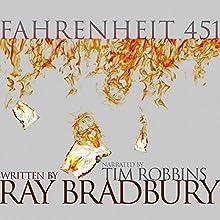 Fahrenheit 451 Audiobook by Ray Bradbury Narrated by Tim Robbins