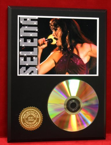 Selena 24Kt Gold CD Disc Display Award Quality - Limited Edition Only 500 Made cd диск him screamworks love in theory and practice limited edition 2 cd