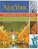 New York Magazine Crossword Puzzle Omnibus, Volume 1