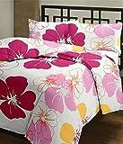 Ayushi Craft & Fashions Single AC Blanket Flower