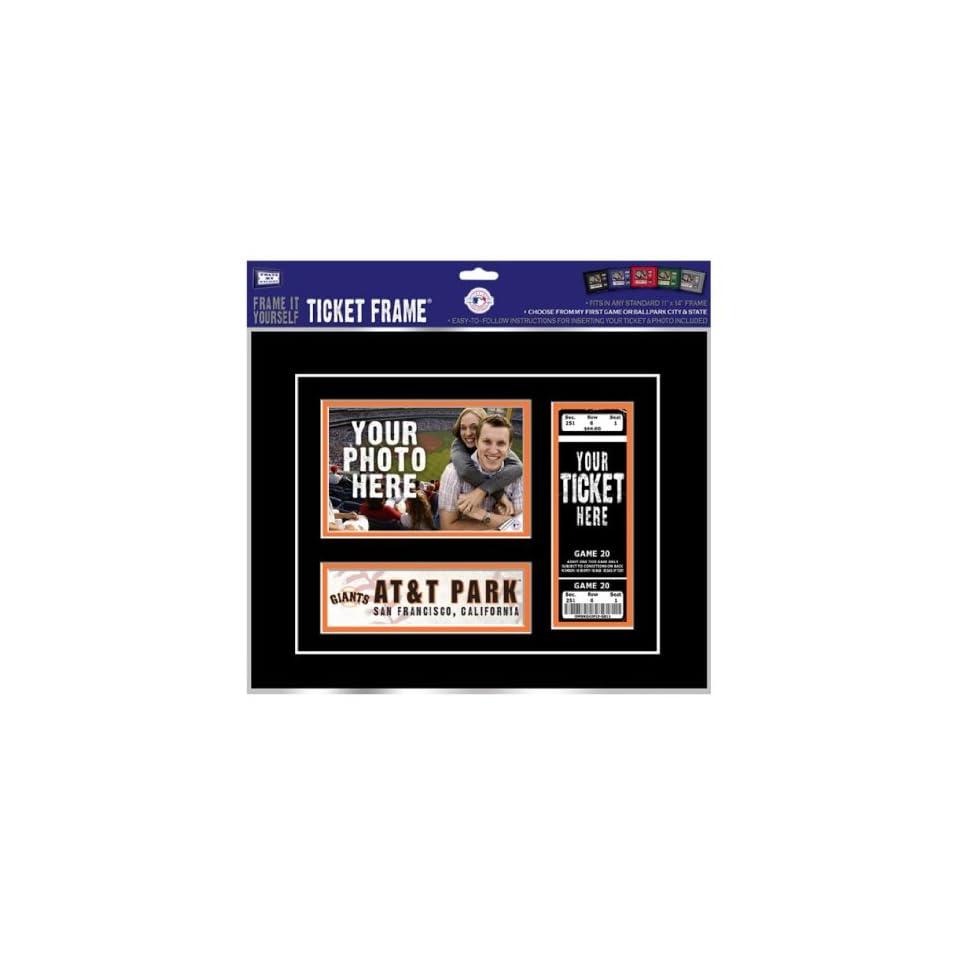 San Francisco Giants Game Day Ticket Frame Frame It