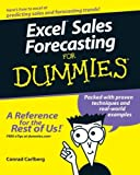 img - for By Conrad Carlberg Excel Sales Forecasting For Dummies (1st) book / textbook / text book