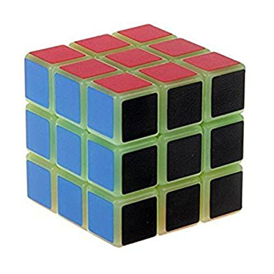 Glow in the Dark Speed Cube 3x3 Magic Cube Puzzle 57 mm from Hmost