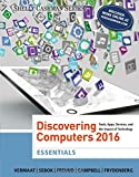 img - for Discovering Computers, Essentials  2016 book / textbook / text book
