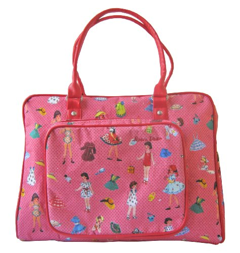 Room Seven Diaper Bag, Dressing Dolls Pink