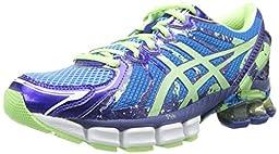 ASICS Women\'s Gel-Sendai 2 Running Shoe,Ice Blue/Mint/Blue,8.5 M US