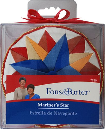 Fons and Porter Mariner's Star Pin Cushion