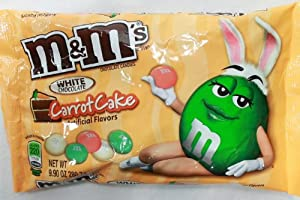 M&M'S Carrot Cake White Chocolate Easter Limited Edition Candy 9.9oz (3 Bags)