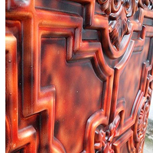 PL16en plusieurs finitions disponibles: dalles de plafond Panneaux muraux décoration en relief fond photosgraphie 10pieces/Lot