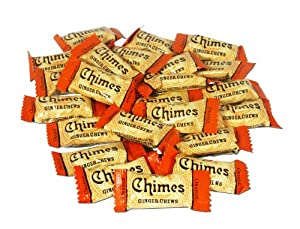 Chimes Orange Ginger Chews, 5-pound Box
