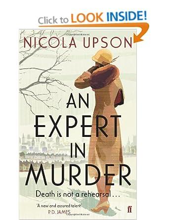 An Expert in Murder (Josephine Tey Mystery 1` - Nicola Upson