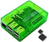 Raspberry Pi3 Model B ボード&ケースセット (Element14版, Green)