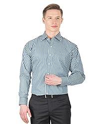 Arihant Men's Cotton Striped Formal Shirt (AR73020140)