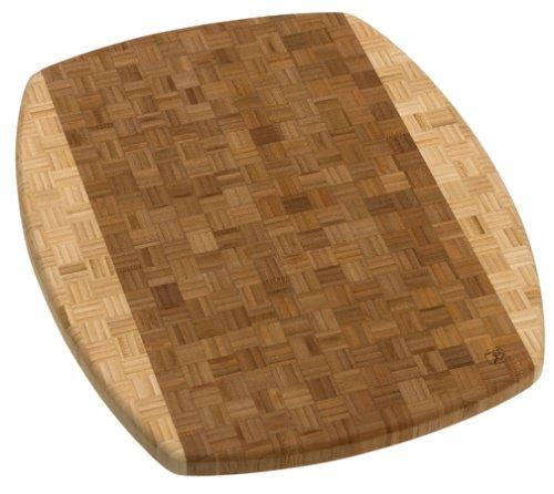 Totally Bamboo Congo Parquet End Grain Cutting Board