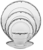 Lenox Coronet Platinum Bone China 5-Piece Place Setting, Service for 1