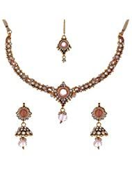 Dishi Imitation Antique Gold Plated Chain Necklace For Women - B00P16GPPC