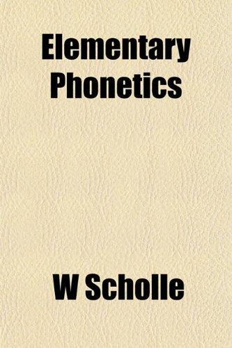 Elementary Phonetics