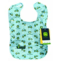 John Deere Coated Bib, Baby Boy