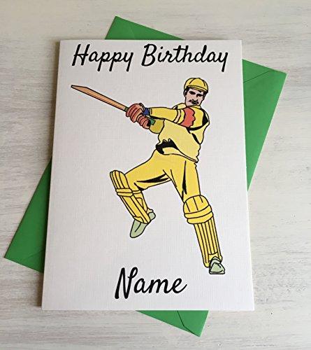 cricket-player-batsman-personalisierbar-premium-elfenbeinfarben-geburtstagskarte